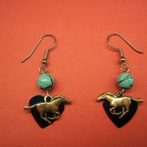 Jewelry - Earrings, Horse Jewelry, Western Earrings,